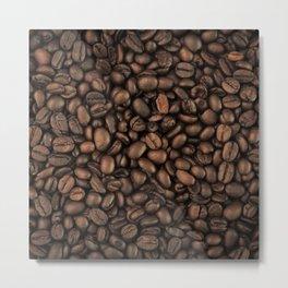 COFFEE BEANS II Metal Print