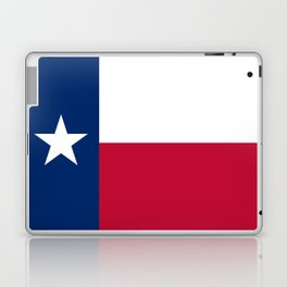 Texas state flag, High Quality Authentic Version Laptop & iPad Skin