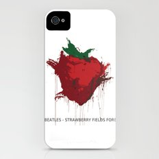 Strawberry Fields Forever  iPhone (4, 4s) Slim Case