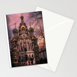 Savior on the Spilled Blood Stationery Cards