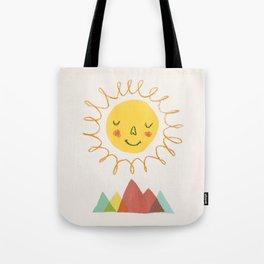 Sunny - Let's go outside Tote Bag