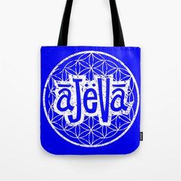 Ajeva Logo Blue Tote Bag