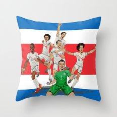 Ticos Throw Pillow