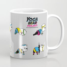 Yoga Bear - 80's Remix Coffee Mug