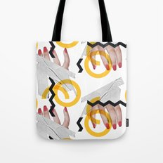 Hand Over Fist Tote Bag