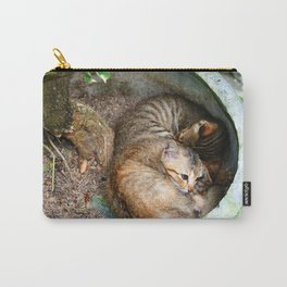 Bali Sleeping Kittens Cuddling Carry-All Pouch
