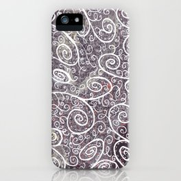 horrible person iPhone Case
