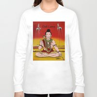 lama Long Sleeve T-shirts featuring Dalí lama by Michelena