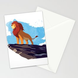 The Lion King Minimalist Stationery Cards