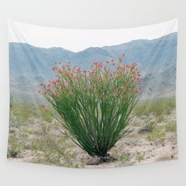 Ocotillo Plant (Anza Borrego Desert, California) Wall Tapestry