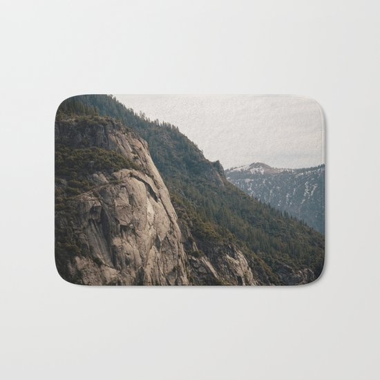 To The Mountains Bath Mat