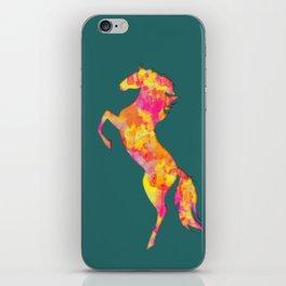 Fire Horse Silhouette iPhone Skin