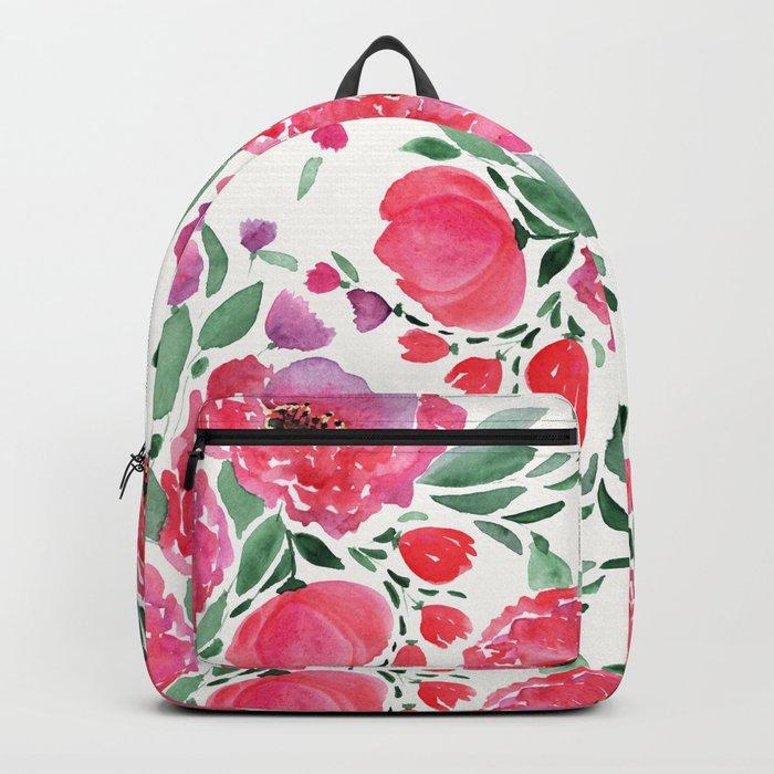 flower pattern 6 Backpack