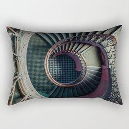 Art Deco spiral staircse Rectangular Pillow