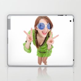 Hippie Chick Laptop & iPad Skin