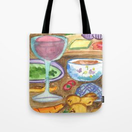 Making Goulash Tote Bag
