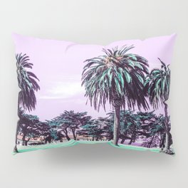 Three palm trees. Pillow Sham