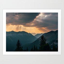 Heavenly Light Art Print