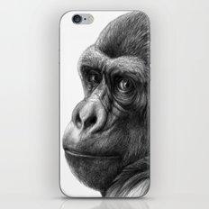 Gorilla G038b schukina iPhone & iPod Skin
