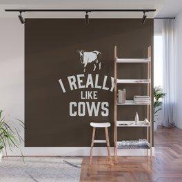 I Really Like Cows Wall Mural