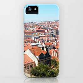 Lisbon, Portugal Analog 6x6 Kodak Ektar 100 (RR 162) iPhone Case