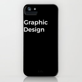 Graphic Design iPhone Case