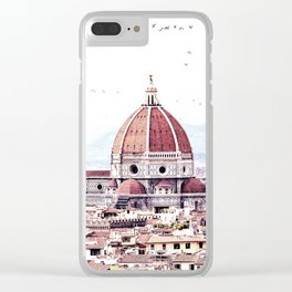 Brunelleschi's masterpiece Clear iPhone Case