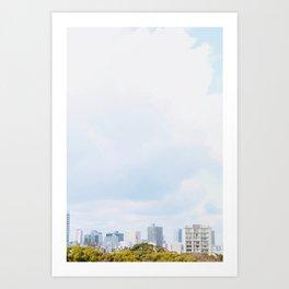 Endless Skylines (2) Art Print