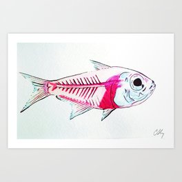 My First Water Color Art Print