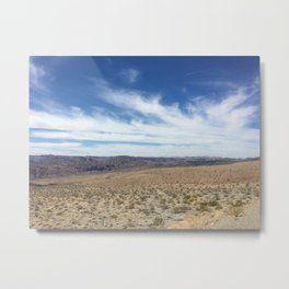 Arid Escape Metal Print