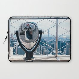 New York Skyline from Empire State Building Laptop Sleeve