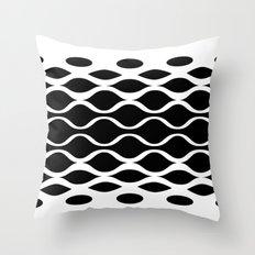 Subatomic Throw Pillow