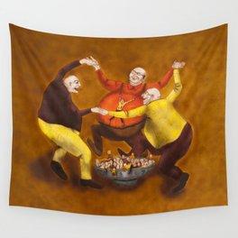 The Belly Feeding Dance / A Dança de encher a Pança Wall Tapestry