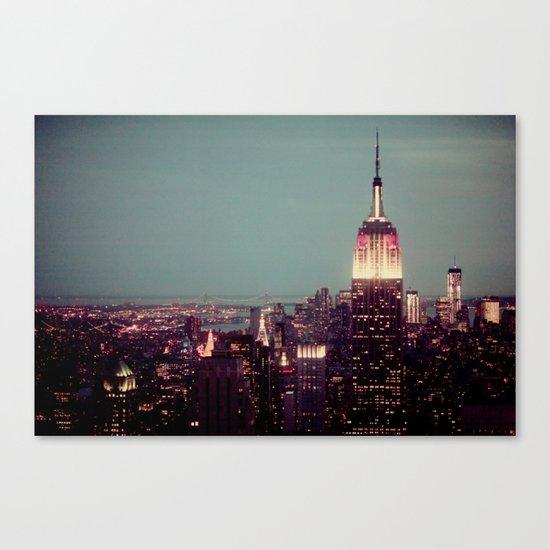 Empire State Canvas Print