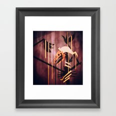 The seeping Framed Art Print
