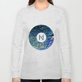 Vinyl abstract Long Sleeve T-shirt