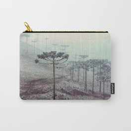 Winter Araucaria Carry-All Pouch