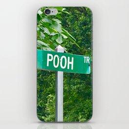 Funny pooh iPhone Skin