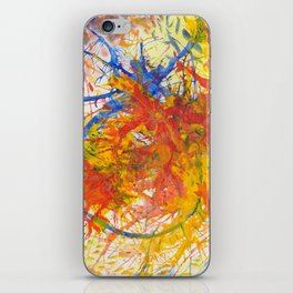 Branches Aflame with Flower iPhone Skin