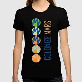 Colonize Mars T-shirt