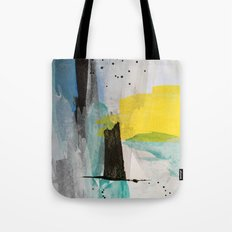 Misty Sunny Morning Tote Bag