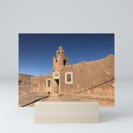 Sahara Mosque, Morocco Mini Art Print