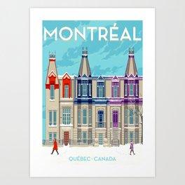Montreal - Quebec - Canada Art Print
