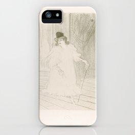 Cecy Loftus,1895 iPhone Case