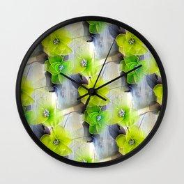 nylonfleur Wall Clock