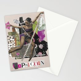 Capricorn Intuitive Collage Stationery Cards