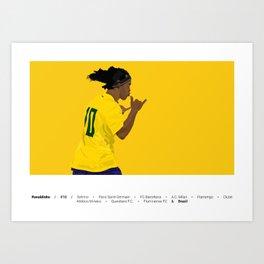 Ronaldinho | R10 Art Print