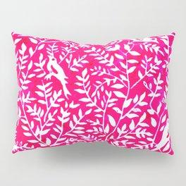 Wonderlust Pink#Birds let's run away Pillow Sham