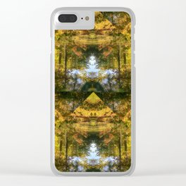 The Nature of Autumn Clear iPhone Case