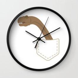 Dino #2 Wall Clock